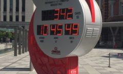 2020年東京五輪カウントダウン時計 2020 Tokyo Olympics countdown clock